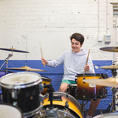 Drum Lessons | Major Player Music School